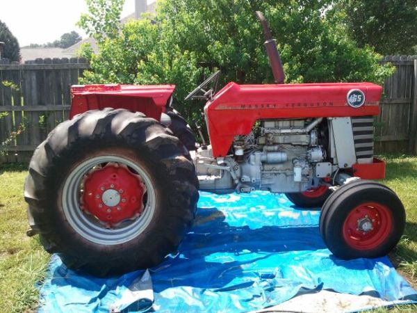 Massey Ferguson 165 and bush hog - $6500 (Tylertown, MS)