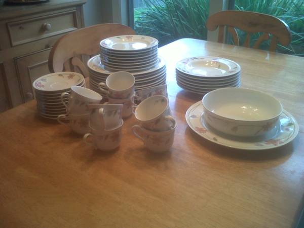 Mikasa-Satin Ivory-China-Set of 10 - $150 (Madisonville)