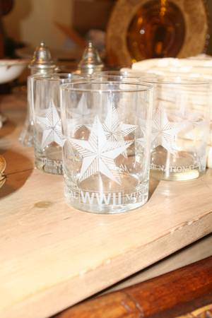 Mignon Faget WWII glassess - $25 (Metairie)