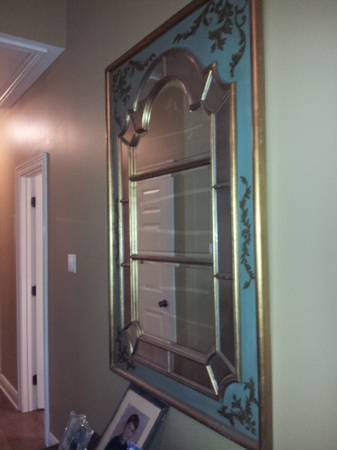 3x5 Decorative Mirror and a smaller square pier one mirror - $99 (covington)