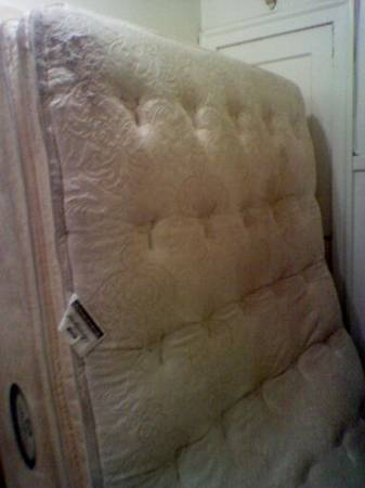Queen Mattress Box Spring Combo (Great Deal) - $100 (Uptown)