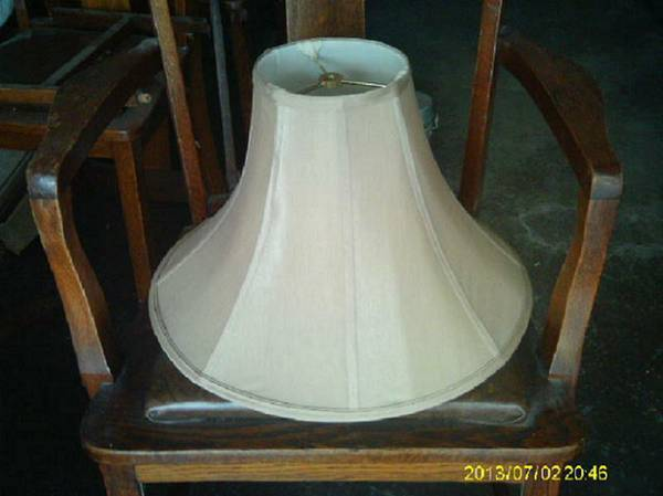 Glossy Nylon LAMP SHADE (Off White)) (Kenner)