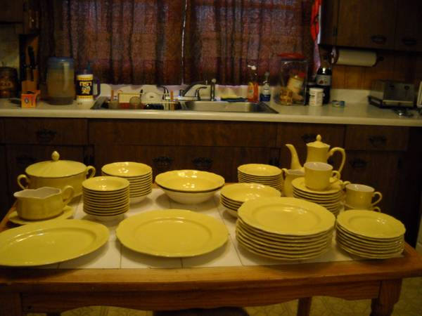Buttercup Federalist Dishes - $100 (Metairie, LA)