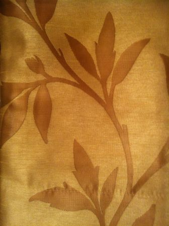 NEW 6 panels taupe on tan floral drapes draperies 56x86 each panel - $75 (Lakeview)