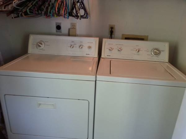 kenmore gas dryer and washer - $375 (mandeville)