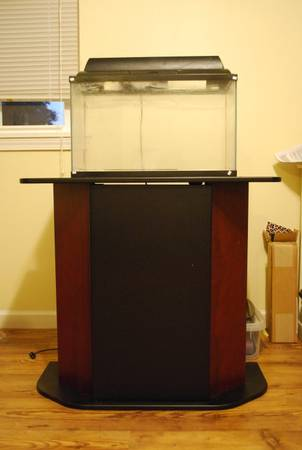 10 Gallon Aquarium with Stand - $50 (Slidell)