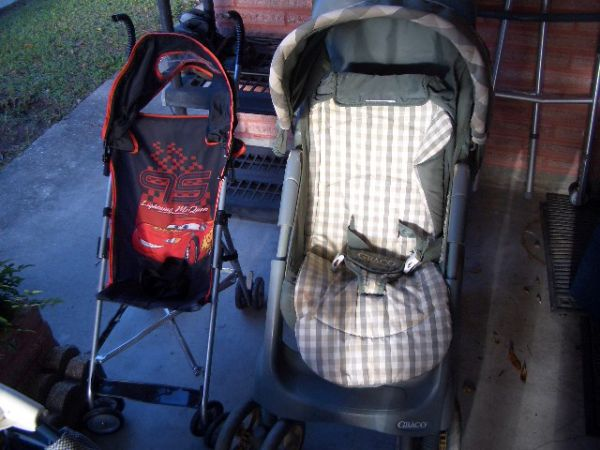 Tree stand doll house 2 strollers car seat Pack n Play play yard (West Bank)