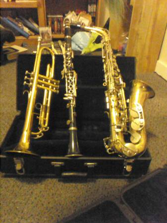 Clarinet, Alto Sax, Trumpet, Acoustic Guitar - $1 (River Bend)