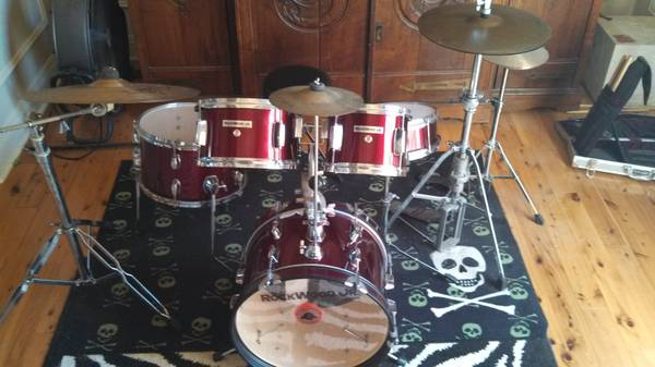 Rockwood Jr 5pc Drum Set - $300 (Abita Springs)