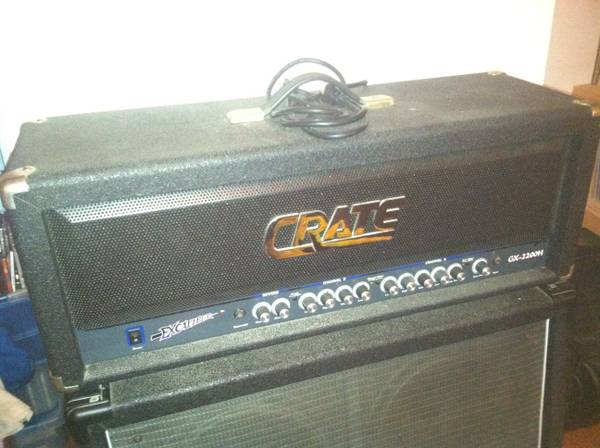 Crate Excalibur GX-2200H head - $175 (Kenner)