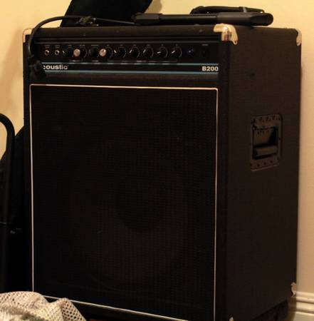 Acoustic B200 bass - $200 (Mid City New Orleans)