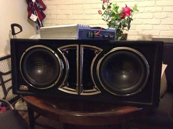 Sdx bass audio lifier kentwood - $120 (Metairie )