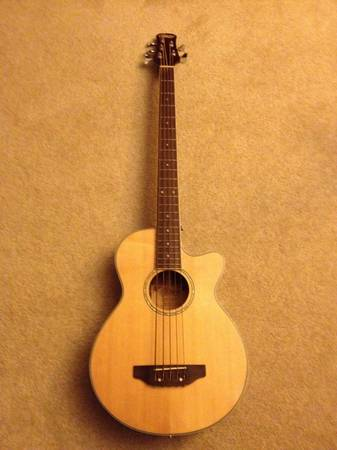 Copley Acoustic Bass guitar - $225 (new orleans)