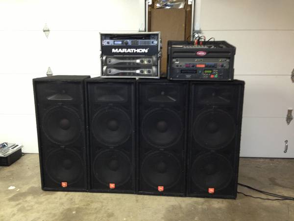 JBL QSC Mackie DBX PA System for Sale - $2500 (Metairie)