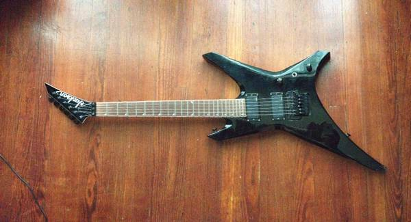 Jackson WRMG Warrior electric guitar - x0024300 (New Orleans )