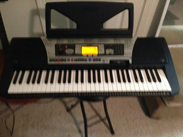 yamaha PSR-350 electric keyboardpiano - $120 (new orleans)