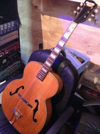 National N 275 Blonde Acoustic Archtop c.1951 - $649 (New Orleans, LA 70114)