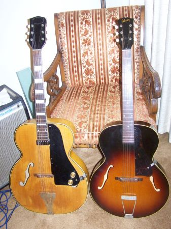 Gibson National archtop jazz guitar - $600 (Laplace, LA)