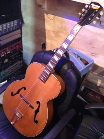 National N-275 Archtop Acoustic Guitar - $425 (New Orleans, LA 70114)