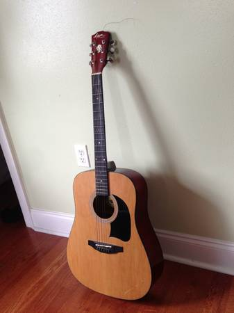 Acoustic guitar, Lyon by Washburn$70 Only - $70 (70122)