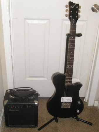 first act electric guitar practice amp for sale. Black Bedroom Furniture Sets. Home Design Ideas