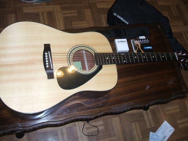 New Yamaha FD01S Acoustic Guitar Accessories - $150 (New Orleans)