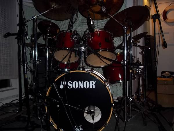 Sonor Drums Force 3001 Cherry Lacquer - $1800 (Ponchatoula)