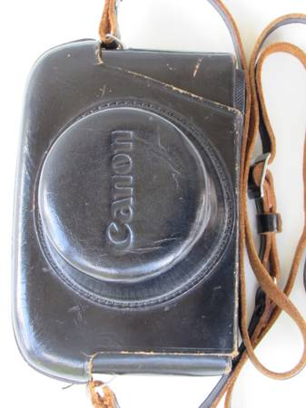 VINTAGE CANON CANONET CAMERA WITH ORIGINAL LEATHER CASE -   x0024 20