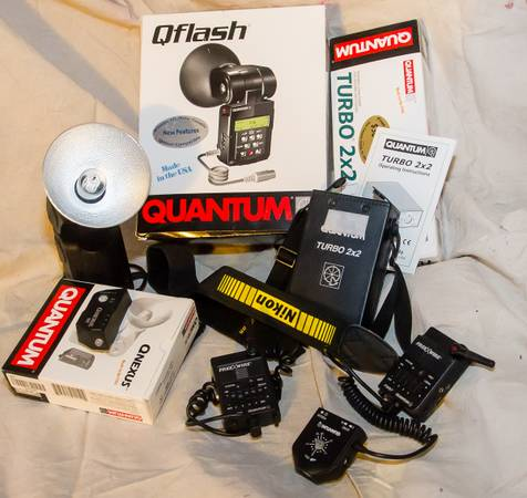 Quantum Qflash T5d-R Flash Quantum Turbo 2x2 Battery - $700 (Houma)