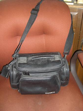 Camera Bag _ Leather AMBICO - $20 (Metairie)