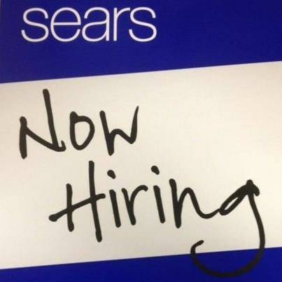Sears Now Hiring (Oakwood Mall in Gretna)