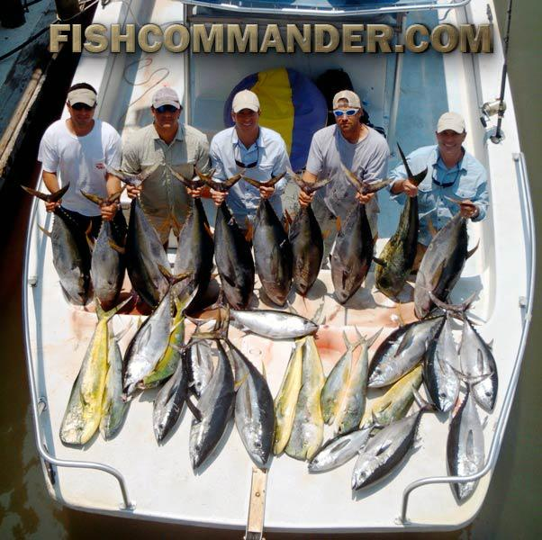 LA Fishing Charters - Deep Sea Fishing Trips in  Louisiana