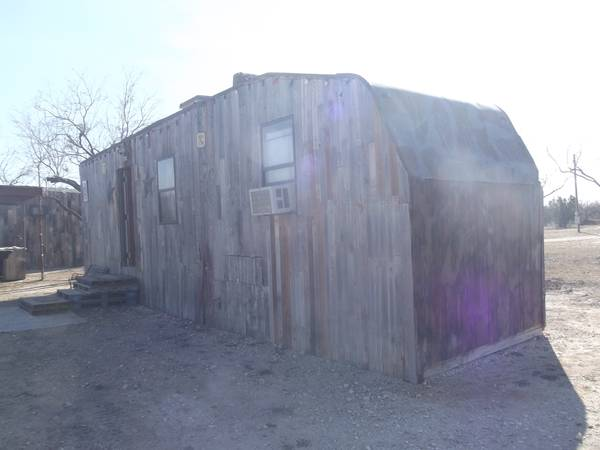 Cabins and Travel Trailer Camping for Rodeo Stock Show  West of San Angelo