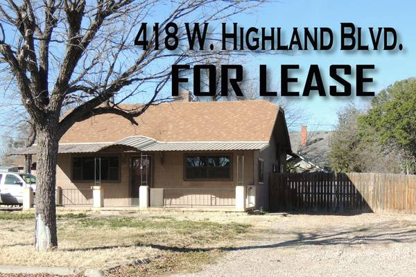 x0024 1000   1317ft sup2  - Commercial Zoned Property  418 W  HIGHLAND BLVD