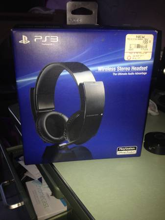 ps3  wireless headset   san antonio