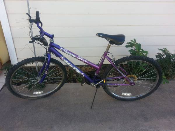 Girls bicycle - Purple -   x0024 25  San Angelo