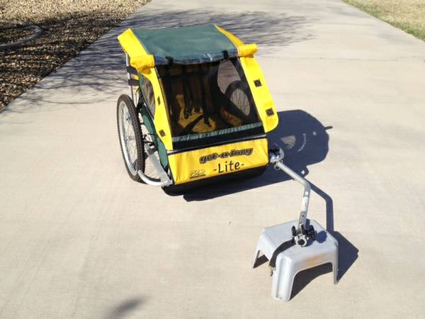 Bike Trailer - Cycle Design Get-a-long lite - $50 (San Angelo)
