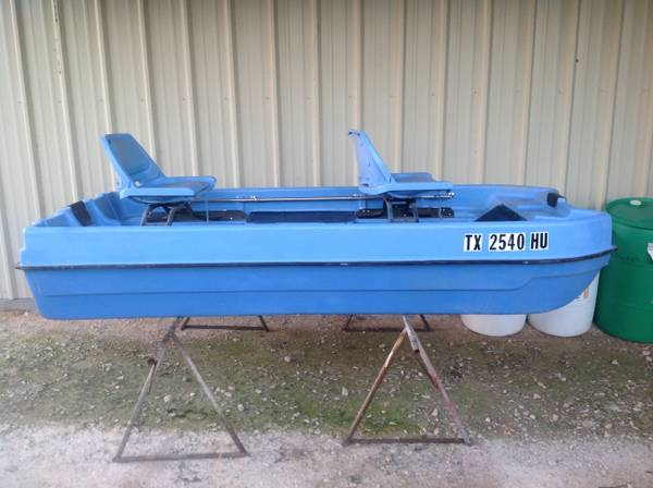 Bass Buster Boat - $350 (Miles, Tx.)
