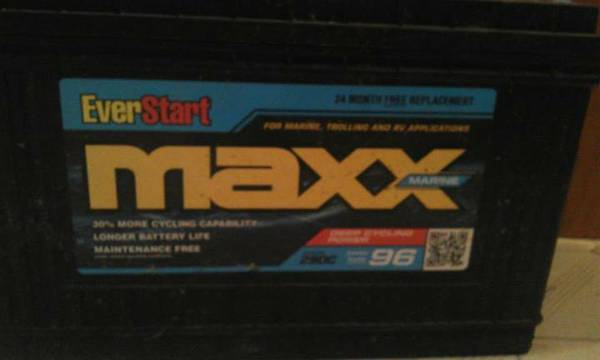 Everstart Deep cycle Marine Battery -   x0024 70