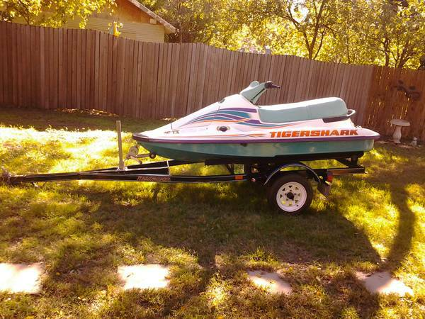 95 Arctic Cat Tigershark Jet Ski with Roadmaster Trailer - x00241400 (San Angelo)