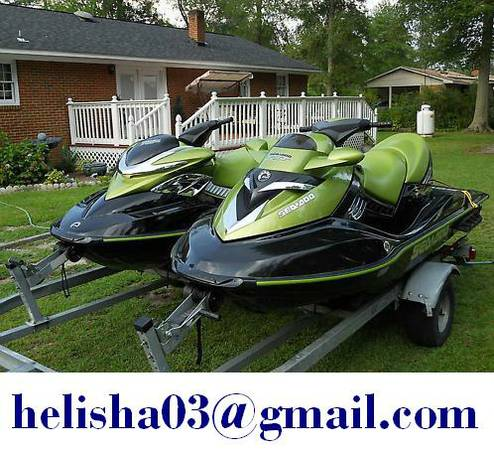- Two 2005 Sea Doo RXP  RXT Supercharged Jet Skis - $2399