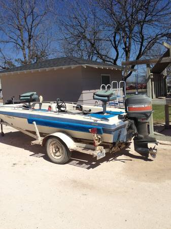 16 ft Pard Fishing Boat - $1500 (Miles,Texas)