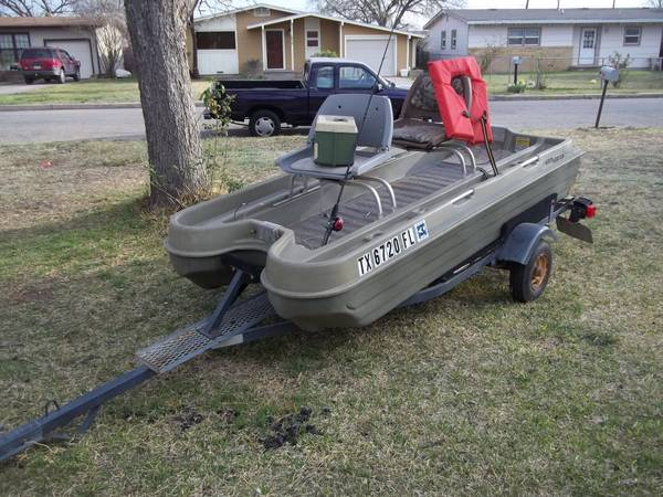LETS GO FISHING 2 MAN BASS BOAT - $400 (SAN ANGELO)
