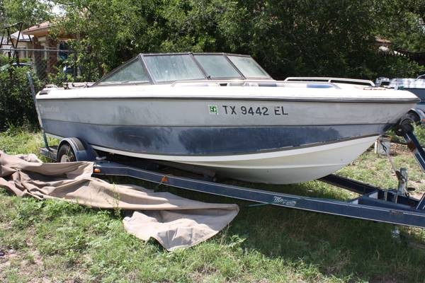 1989 Thundercraft Boat - $1500 (San Angelo)