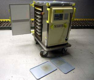 ISECO Transtronic Food Mobile Cart w thermo plates - $1000 (DOWNTOWN)