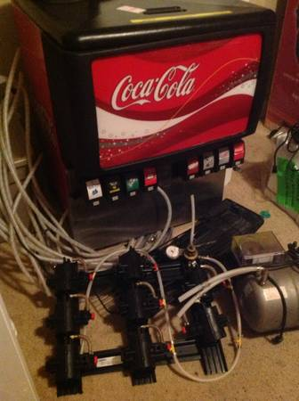 soda coke machine  fountain - $650 (Roundrock tx)