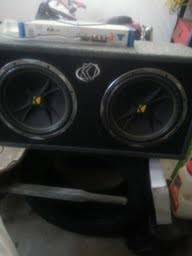 2 12 inch kicker subwoofers with and wiring - $140 (san angelo)