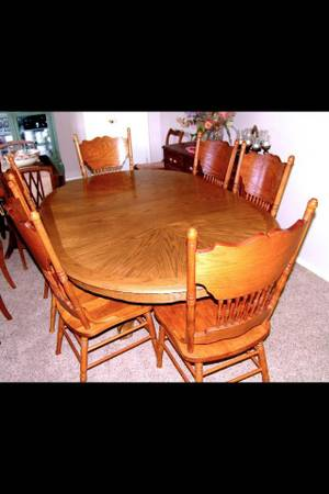 Beautiful Dining Table with 6 chairs -   x0024 300  Wall