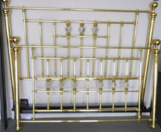 Brass Bed and Rails -   x0024 300  San Angelo