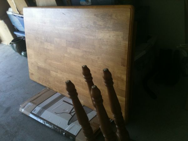 Kitchen Table- Solid wood - $200 (Paint Rock)